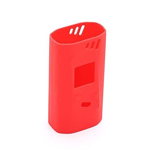 KOLE Protective Silicone Case for Smok Alien 220W Box Mod Kit (Red)