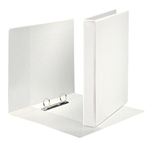Esselte Canguro Plus - Carpeta con 2 anillas, color blanco