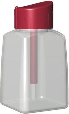 COLLES 24887 Lot de 12 Flacons Vide Cléopâtre liquide bouchon pinceau système anti-reversement 80 ml Couleurs Assorties