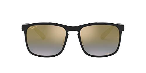 Ray-Ban 0RB4264 Gafas de Sol, Black, 57 para Hombre