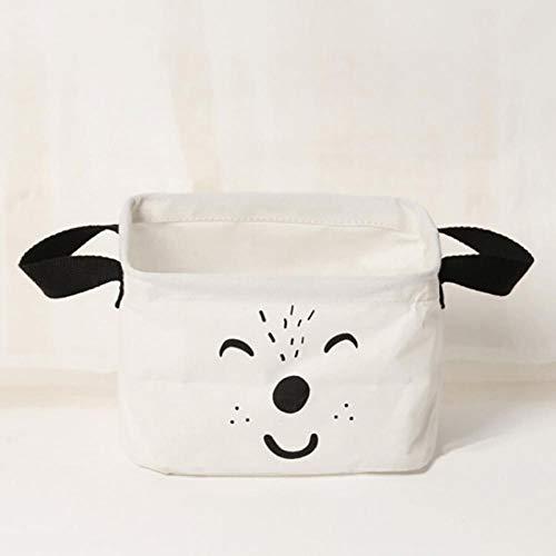 terilizi söt tecknad hund/björn kläder förvaringskorg vikbar hem smutsiga kläder påse barnleksaker förvaring tvätt förvaringsväska