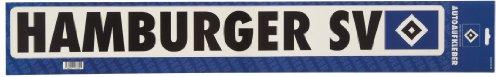 Brauns Hamburger SV Autoaufkleber Schriftzug groß,  blau, 29210