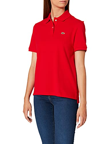 Lacoste PF7839 Polo T-shirt - Femme - Rouge - 36