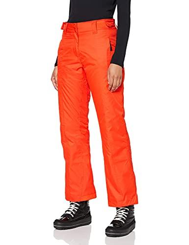 Ultrasport Damen Advanced Lucy Ski-/Snowboard Hose, Orange, S