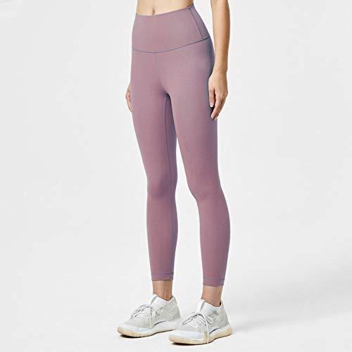 RRUI Vrouwen Sport Panty & Leggings sport panty Nieuwe running effen kleur naakt sport panty heupen zonder spoor sport broek vrouwelijke lichtblauw S