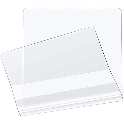HJRD Alfombra Protectora Transparente Pet para Silla de Oficina,Mantel Protector De PVC, Estera De Mesa De Café, Estera De La Uso para Suelo Duro(0.5MM120x150cm/47.24x59.06in)