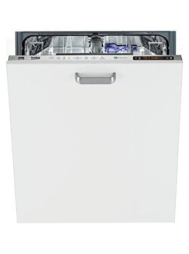 Beko Lave-vaisselle entièrement intégré DIN 6831 FX - A++ - 258 kWh/an - 12 couverts - 44 dB - Acier inoxydable - Sans traces de doigts - Waterstop - Programme automatique - Largeur : 59,8 cm.
