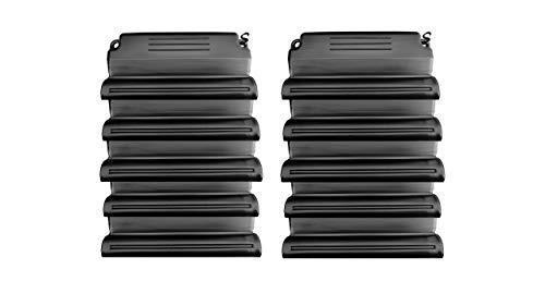 well2wellness® Hochwertiges Pool Eisdruckpolster Set - 10 Stück mit Sand beschwert + Verbindungshaken