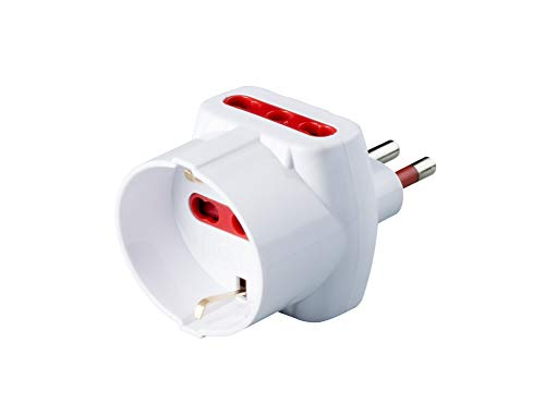 Adaptador triple civil serie Emilia