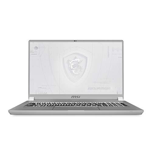 MSI WS75 10TM-475IT, Notebook Workstation, 17,3  4K Mini-Led, Intel I9-10980HK, Nvidia Quadro RTX 5000, 16GB GDDR6, 2TB SSD M.2 PCIe 3x4, 64GB RAM DDR4, Win 10 Pro [Garanzia e Layout IT], Argento
