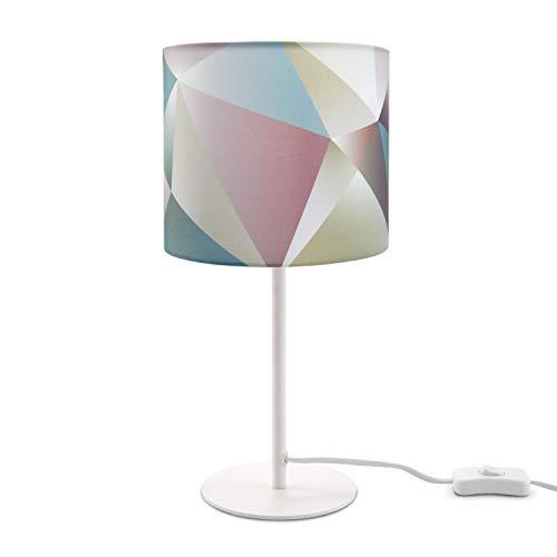 LED Tischlampe E14 Lampe, Für Wohnzimmer Und Schlafzimmer, Pastellfarben, Deko,...