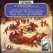 D. Kabalevsky: Vol 4. Piano Concertos Nos. 2, 3 & 4.
