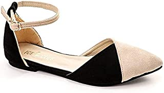 Casual Suede Ballerina Shoes For Women