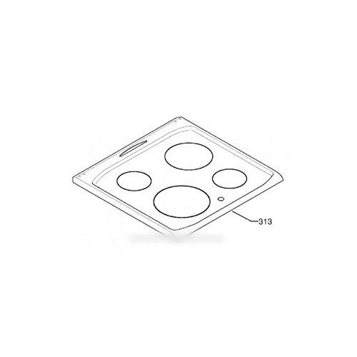 ARTHUR MARTIN ELECTROLUX FAURE - dessus verre vitro-ceram pour cuisinière ARTHUR MARTIN ELECTROLUX FAURE