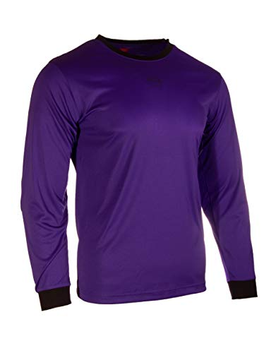 Victor Sierra Kids Recoil GK Soccer Goalkeeper Jersey Youth Sizes (Youth Large, Purple)