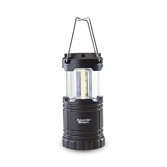 Atomic Beam Lantern Original by Bulbhead, Bright 360-Degree, Collapsible LED Lantern for Emergencies & Camping 2 ➤ The camping lantern that shines 360-degrees of bright LED light ➤ Hang your atomic lantern from handles, magnetic base, or hook for hands-free torch light ➤ Collapsible light has easy pull-n-push on/off system so you're not fumbling for buttons when you need an emergency light