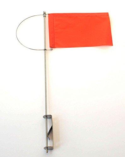 New Marine Verklicker Windrichtungsanzeiger für Segelboote Größe 100 mm (Rot)
