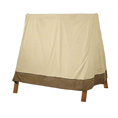 Zhenwo 3-Seater Jardin Balancez Housse De Protection Housse De Protection UV Hollywood Étanche Balancez 182 Cm X 139 Cm X 170 Cm,A