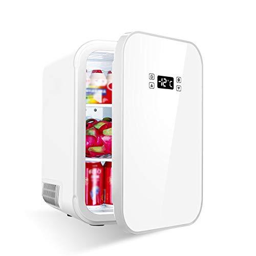 LYZL Minikühlschrank, 25L Getränke Kühlschrank, Mit dem Einfrieren und Kältetechnik, Digital-Display-Bildschirm, 25dB Mute, Ultra Low Energieverbrauch, 220V für Heim