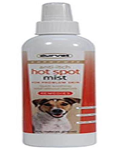 Durvet 011-51119 Naturals Anti-Itch Hot Spot Mist, 8 oz, Clear
