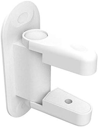 Baby Locks Door Lever Lock Baby and Child Proof Door Handle Self-Adhesive Door Lock Bwdroom Safety Locks (Color : 2PCS)
