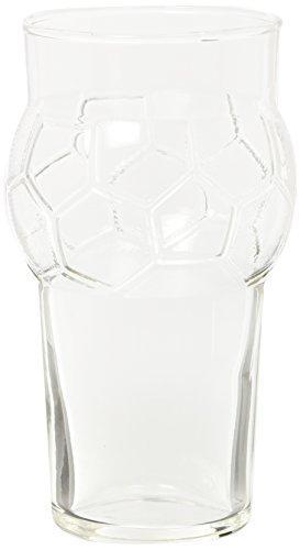 Excelsa Football Confezione 2 Bicchieri Party cl 59, 10x10x17 cm, 2 unità