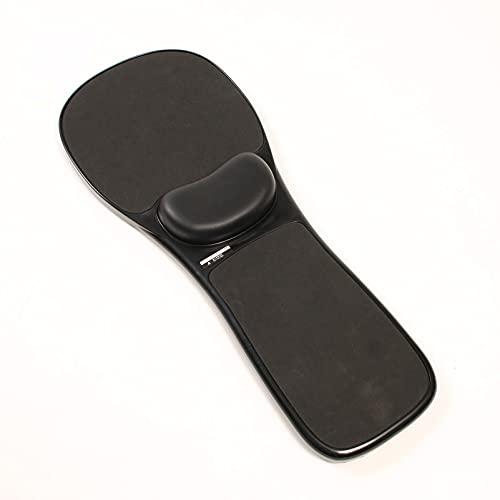 MYAOU Silla de Oficina Negra Almohadillas para Brazos Cojín para reposamuñecas Alfombrilla Acolchada para ratón Soporte ergonómico para reposabrazos para computadora