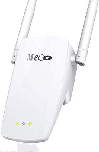 MECO ELEVERDE Ripetitore WiFi 2 antenne 2 porte LAN Dual Band