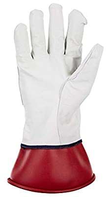 SAS Safety Leather Protective Over Gloves For Electice Service Gloves