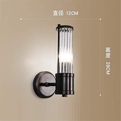 L-C Plafond Licht Amerikaanse Post-Moderne Licht Luxe Wandlamp Koper Wandlamp Spiegel Koplamp Woonkamer Moderne Minimalistische Slaapkamer Nachtkastje Wandlamp