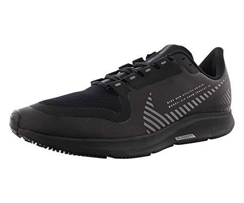Nike Herren AIR Zoom Pegasus 36 Shield Laufschuhe, Nero Black Black MTLC Silver 001, 44.5 EU