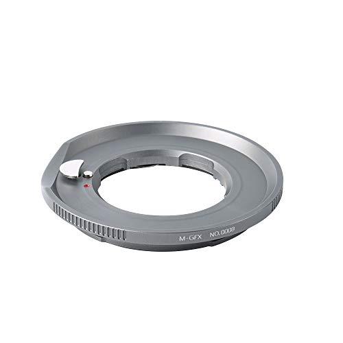 7artisans Objektivhalterung Mittelformat-Adapter Für Leica M-Mount-Objektiv zu Fujifilm GFX-Mount-Adapter Konverter Geeignet für GFX 50S / GFX 50R-Kamera