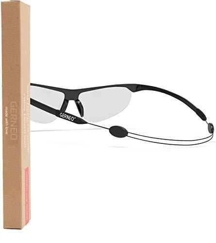 GERNEO® - El original – Cadena ajustable para gafas deportivas – Correa para gafas & Cordón para gafas para deporte resistente al agua banda – cinta para gafas y cadenas de gafas