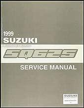 1999 Suzuki Grand Vitara Repair Shop Manual Original