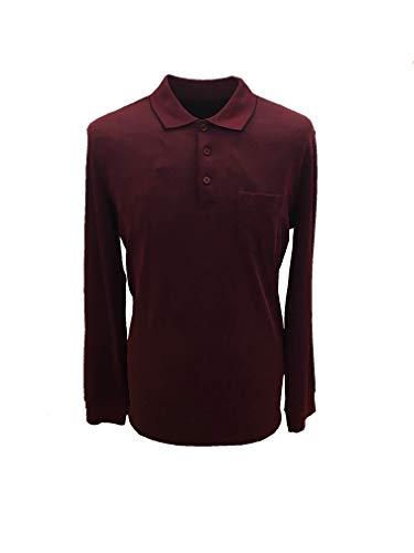 BUGATTI Poloshirt m. lang Art.25090 XXL