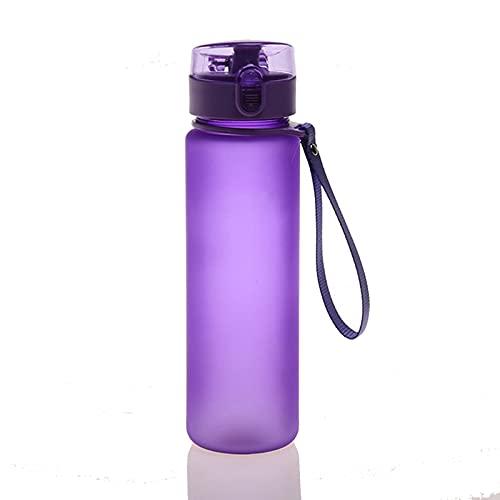 Botella de Agua, 0.7L Botella de Agua Deportes Copa Camping Gimnasio de Gran Capacidad Al Aire Libre, Sin BPA, Botellas de Agua a Prueba de Fugas para Gimnasio Botella de Agua Potable Portátil
