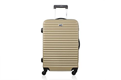 Blue Star Weekend Brazilia Suitcase, 60 L, Champagne (Gold) - BD-12024