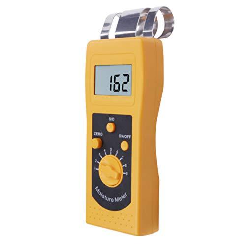 Feuchtigkeitsmessgeräte Digitaler Holzfeuchte-Messgerät DM200W Messbereich 0% -80% Tragbarer Feuchtigkeits Instrument Holz Feuchtigkeitsbestimmer Mess- & Planwerkzeuge