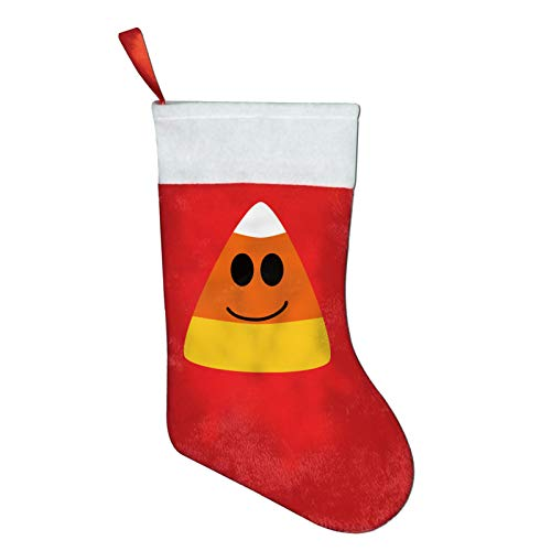 FQWEDY Halloween Candy Corn Christmas Stockings Santa Claus Gift Bag Holiday Decorations Party Ornaments