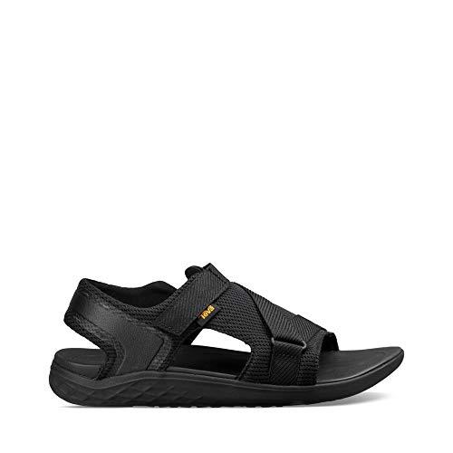 Teva Terra-Float 2 Hybrid-Sandale für Herren zum Wandern, Schwarz (schwarz), 46 EU