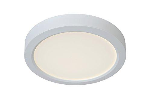 Lucide TENDO-LED - Plafonnier - Ø 22 cm - LED - 1x18W 3000K - Blanc
