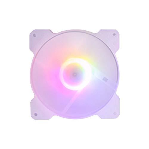 Fauge Ventilador de RefrigeracióN de la Caja de PC de 120 Mm para Juegos 1150 AMD1366, Enfriador RGB de Computadora Ultra Silencioso de 120 Mm, Alto Flujo de Aire de Escritorio-1 Pieza