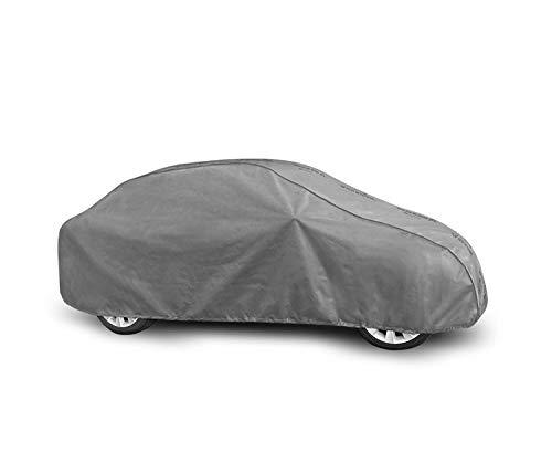Autoabdeckung geeignet für Peugeot 207 CC I Schutzplane Abdeckung Vollgarage für das Auto atmungsaktiv - Autoplane M Sedan