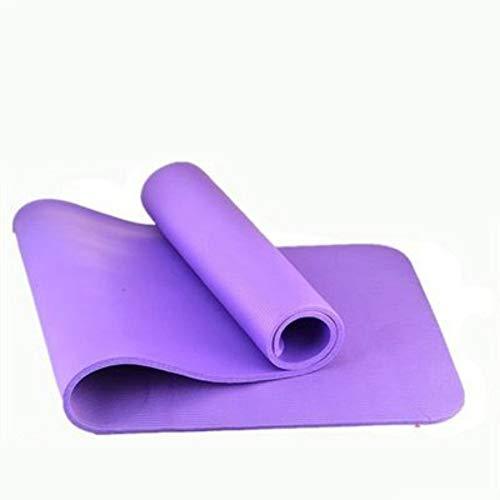 InitialD Tapis Chauds Anti-dérapants pour Pilates, avec Sac de Transport, Corde attachée, certifié SGS-1830 * 610 * 10 mm, Multifonctions -Sit-Ups, Stretching, Home, Gym