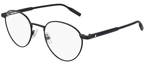Mont Blanc Gafas de Vista MB0115O Black 51/21/150 hombre