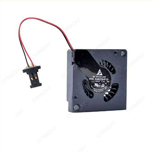 CYRMZAY Ventilador Compatible para Delta BSB0205HP-00 2CM 20 * 20 * 05MM 5V 0.15A 2Pin Micro Blower Fan