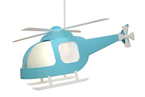 R&M Coudert - Lámpara de techo para niño, color turquesa