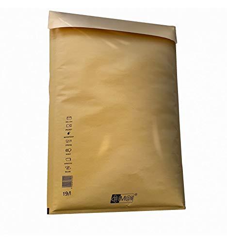 35x47 cm 50 Pezzi Ideali per Spedire e Proteggere Oggetti Buste Postali Imbottite iM@il Buste Spedizione Imbottite