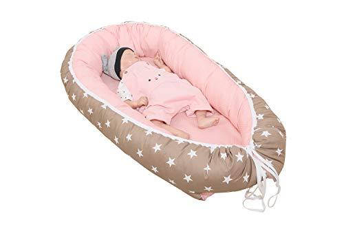 ULLENBOOM ® Babynest & Kuschelnest (55x95 cm)