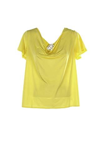 Guess T-Shirts Knit Top MAAT Top Sunshine Mode (M)